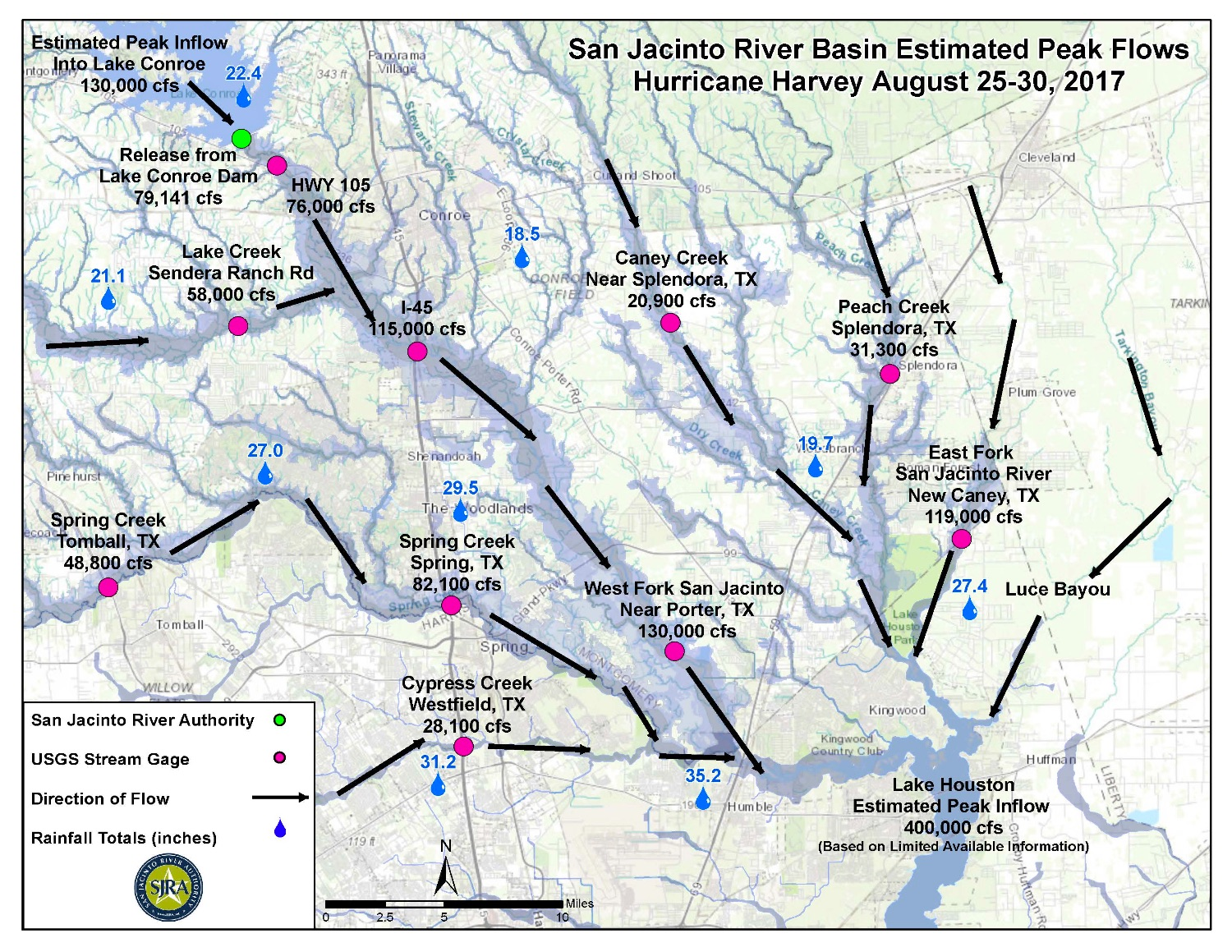 Montgomery County Flood Story Map