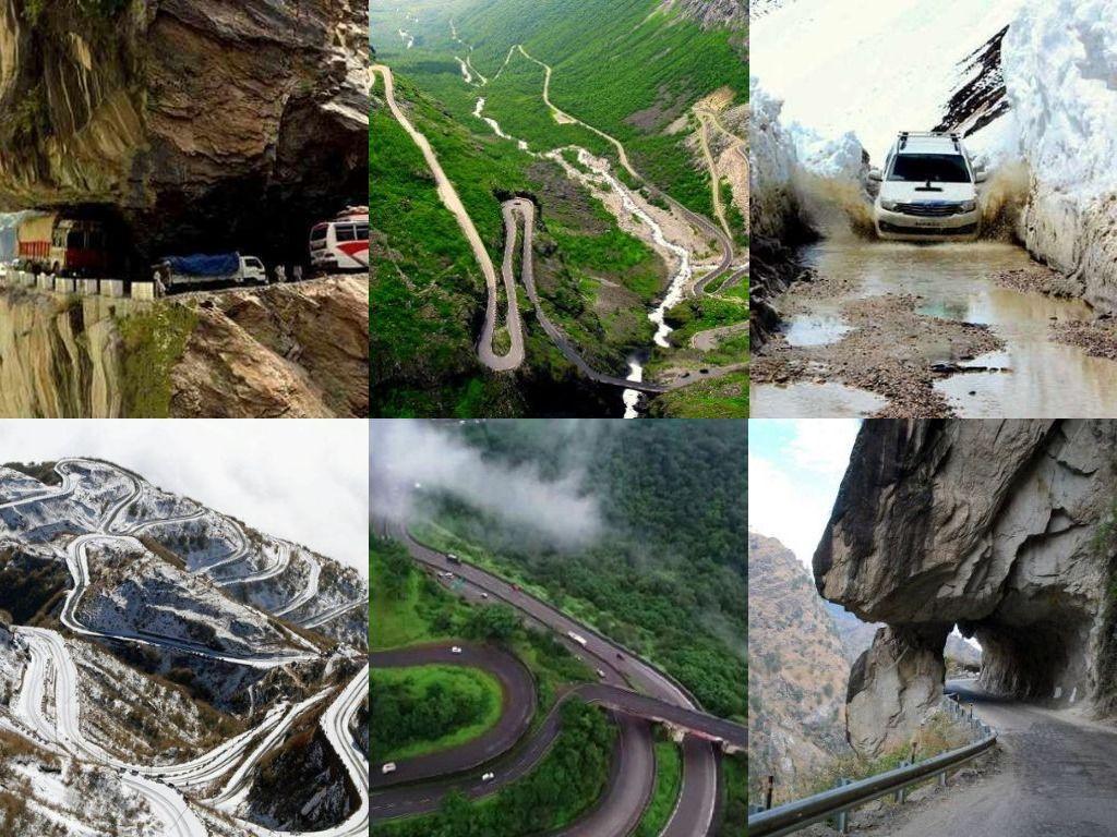 Dangerous Roads Of India