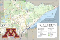 Northeast Minnesota Road Map