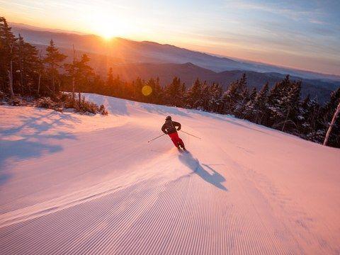 Ski Trails Located Along The East Coast