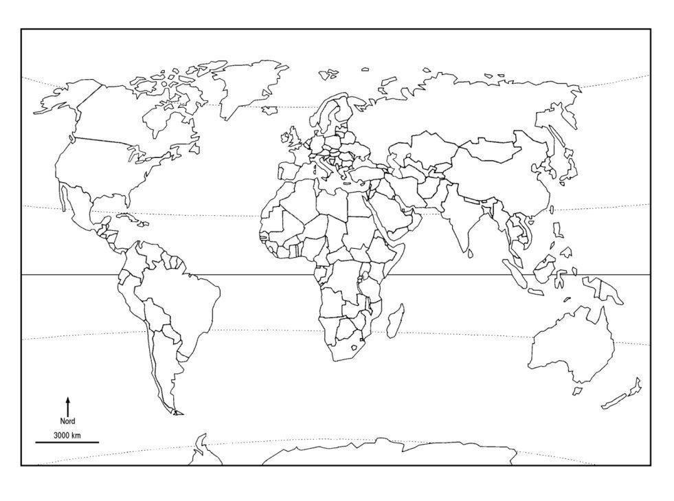 carte du monde avec equateur et tropiques La métropole Nord américaine   NYC Réalisation : Sylvain Dramaix