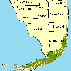 Fwc Unified Florida Coral Reef Tract Map Service