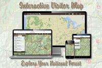 US Forest Service Interactive Forest Visitor Map