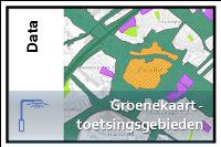 Groenekaart toetsingsgebieden a