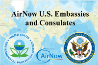 AirNow DOS Embassy and Consulate Monitoring Site Data (Last
