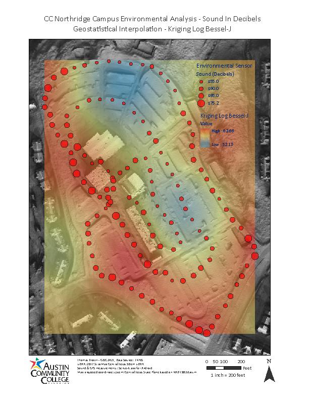 acc northridge campus map Thomas Brown Gis Portfolio acc northridge campus map