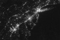 VIIRS DNB Nighttime Lights Nightly Imagery