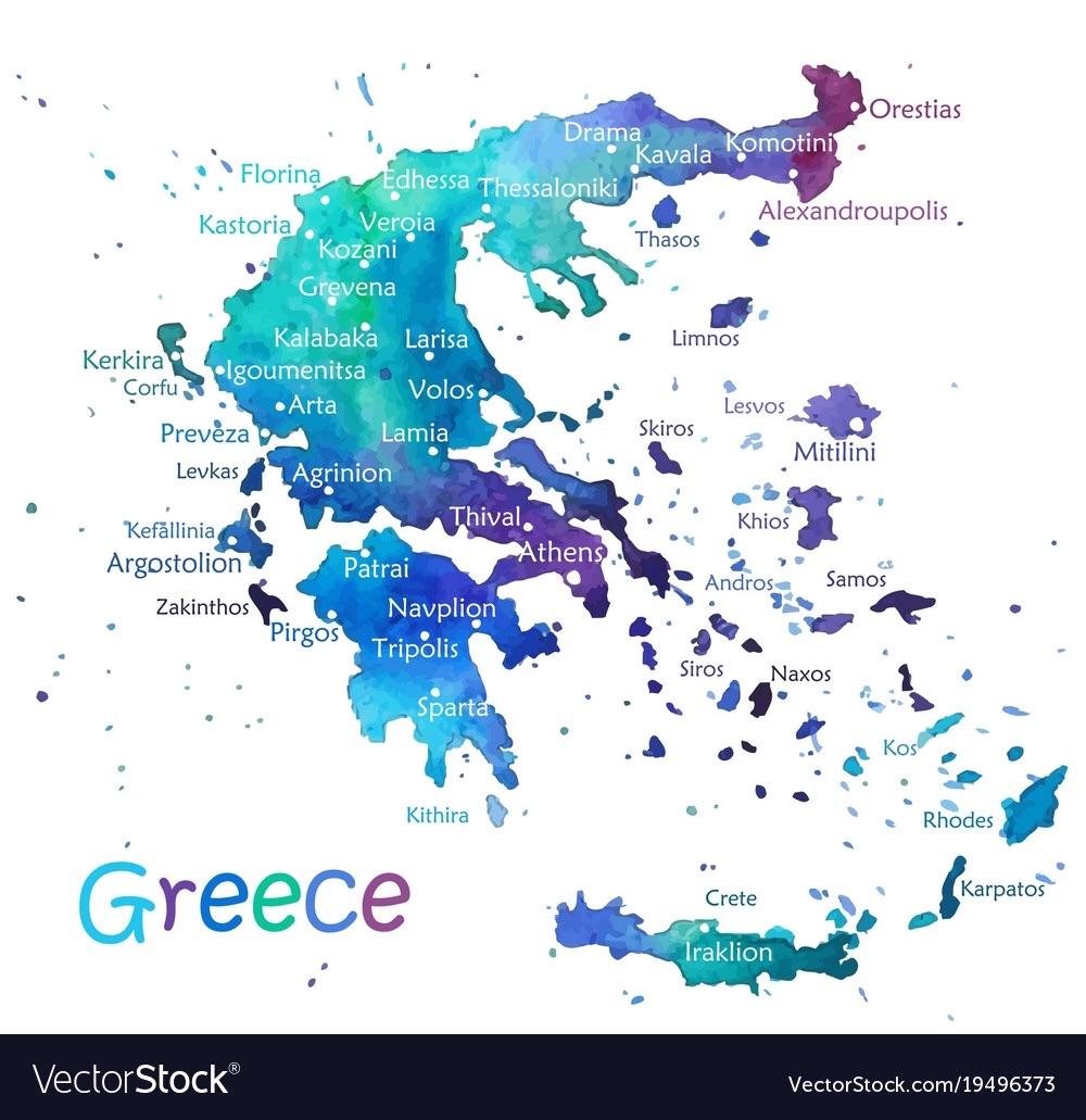 Greece Story Map