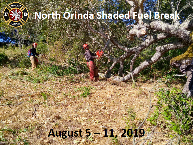 The North Orinda Shaded Fuel Break