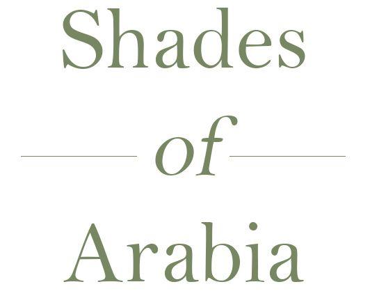 Shades of Arabia on