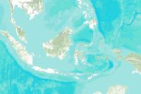 Topographic-Indonesia