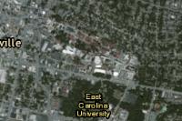 Ecu Campus Map