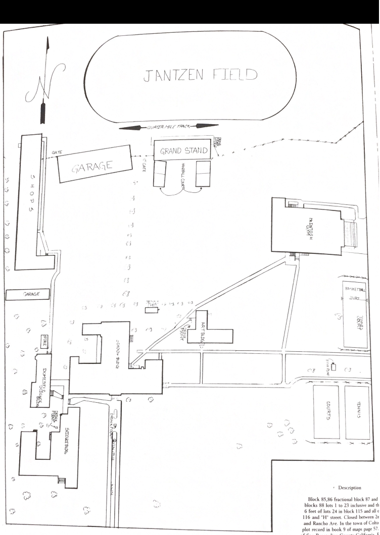 Colton High School Campus Map.Colton High School Campus Www Topsimages Com