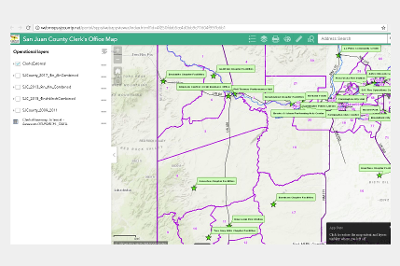 San Juan County Open Data, New Mexico