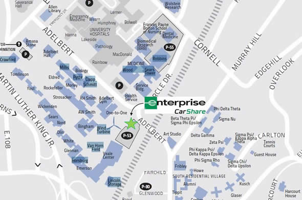 Case Western Campus Map Deep Maps