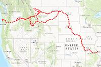 Lewis and Clark Trail Historic Route