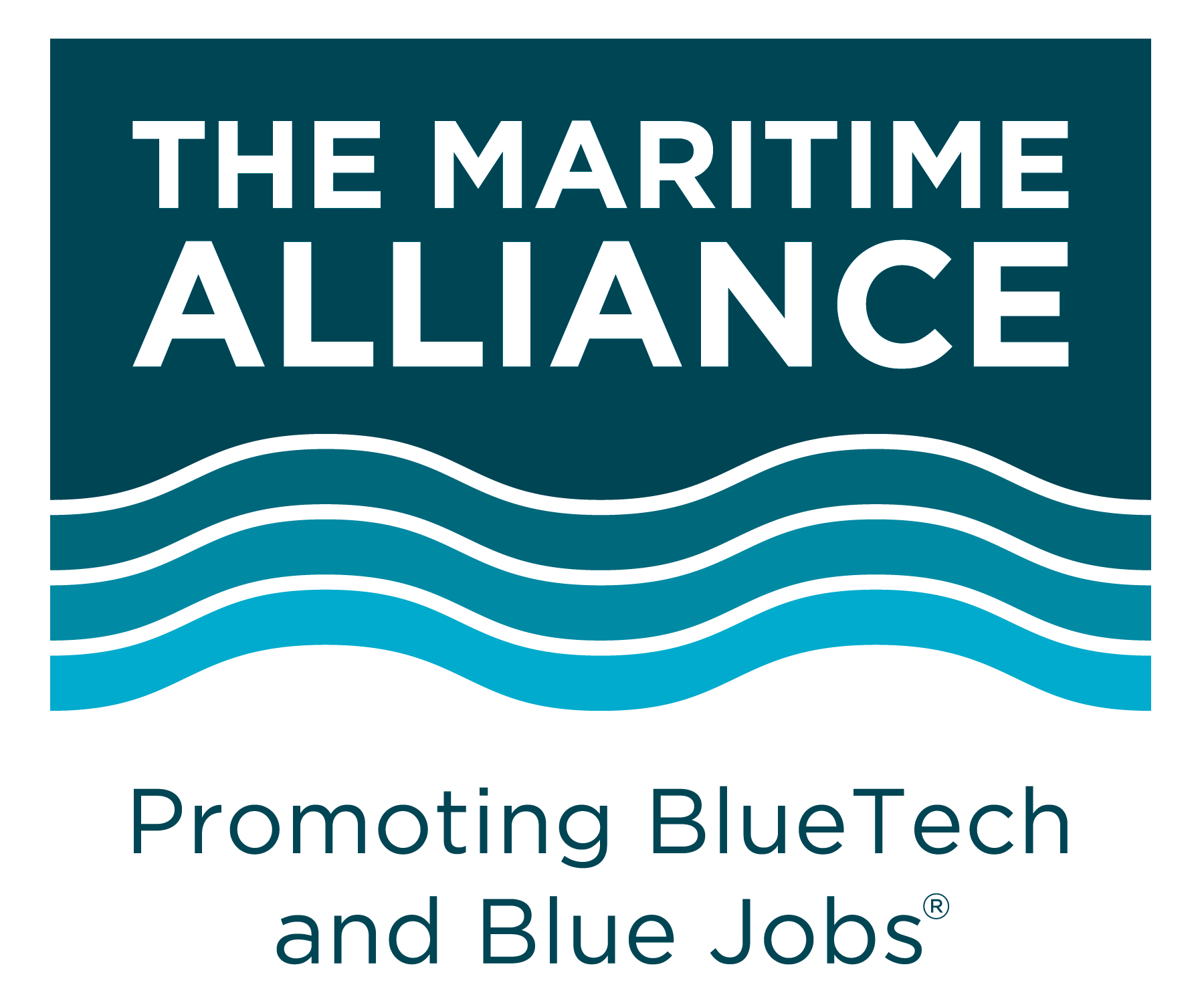 The Maritime Alliance Logo.  Promoting BlueTech and BlueJobs
