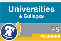 Planning universities colleges