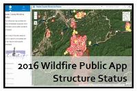 sevier county fire map Sevier County Structure Status