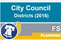 Council districts 2016