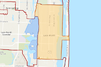 Lake Worth Zip Code Map.Zip Code Areas In Lake Worth