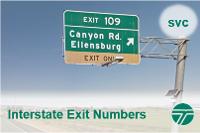 Interstateexitnumbers