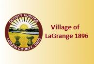 Village of LaGrange 1896 Map