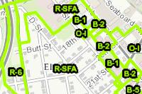Open zoning