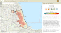 Urban Heat Risk Explorer App