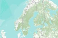 Karta Sverige Hojdkurvor.Varldstackande Topografisk Karta