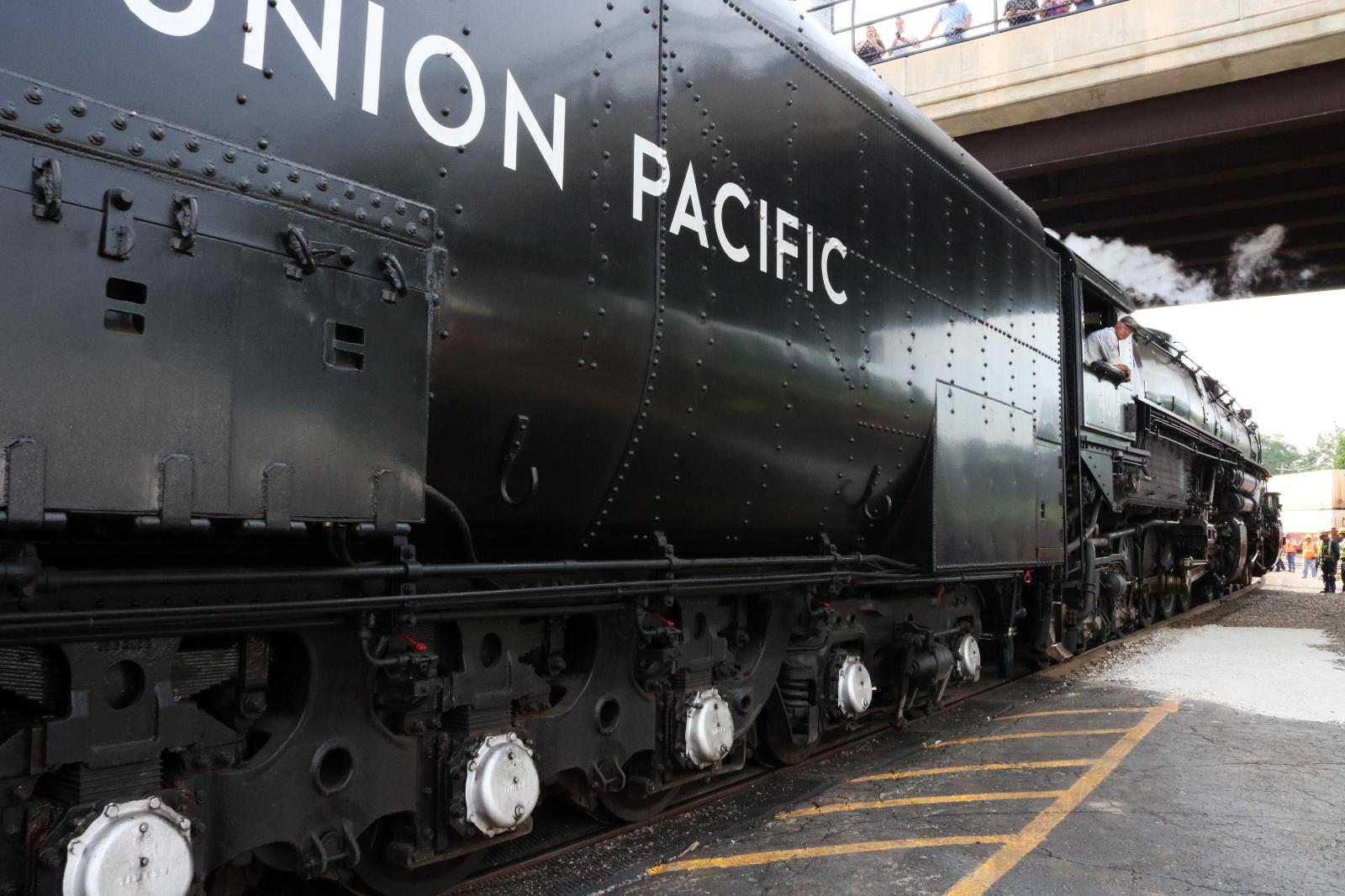 Union Pacific Big Boy No  4014 Visits West Chicago