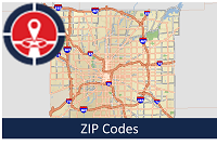 ZIP Code Boundaries | Open Indy Data Portal