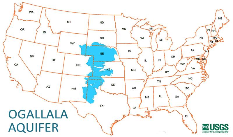 Groundwater Depletion in the High Plains Aquifer