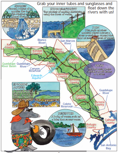 Journey Through the Guadalupe River Basin With Lupe and Edward!