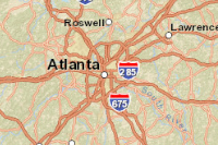 Atlanta Map Traffic.Atlanta Live Traffic