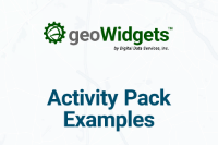 geoWidgets Activity Pack Example - Hex Grid