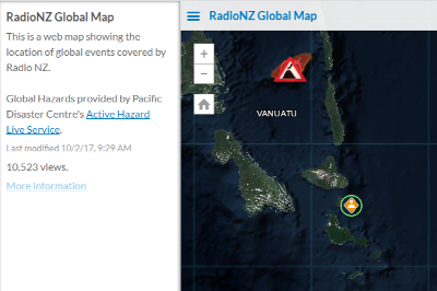 RadioNZ Global Information Map