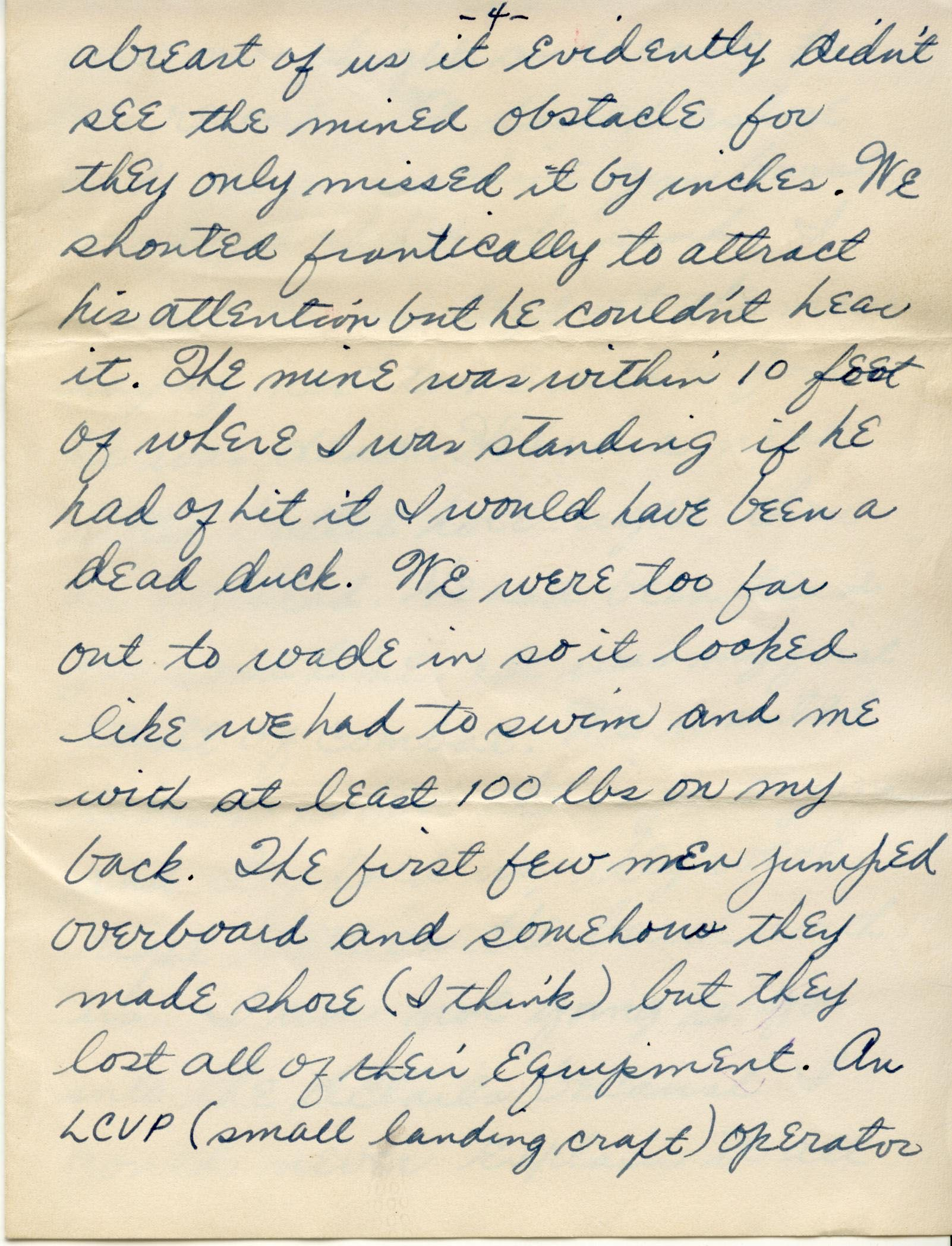 dc7bdbd879 Eight-page handwritten letter Carol Bagent from Preston Earl Bagent,  including envelope. Digital images of correspondence. 05/18/1945.