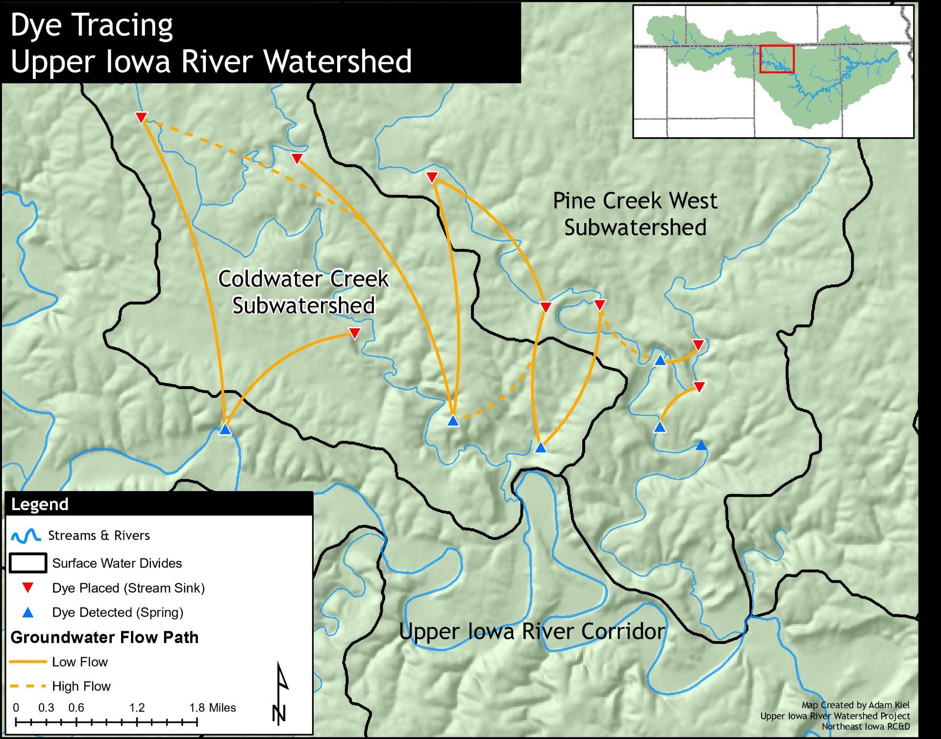 2 3 1 Karst and Sinkholes – Upper Iowa River