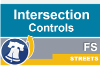 Streets intersection contols