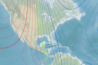 Historical Magnetic Declination