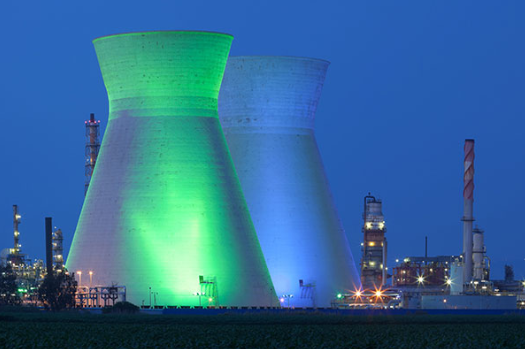 Nuclear power story map