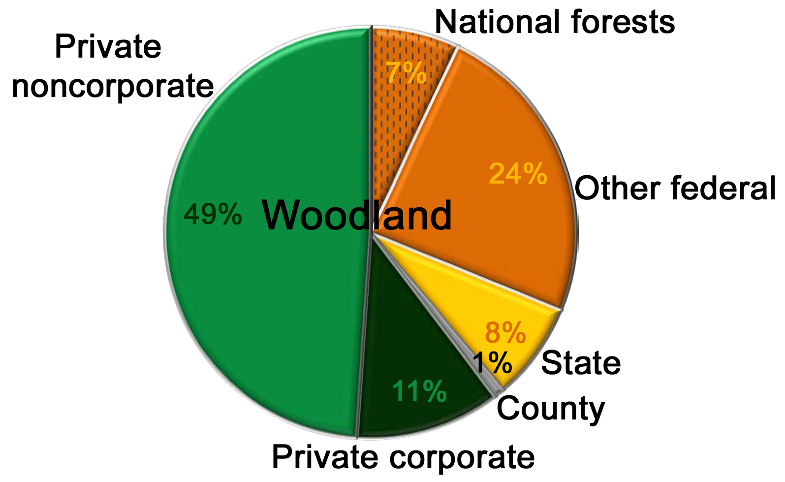 Who owns America's forests?