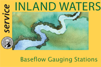 Baseflow gauging stations