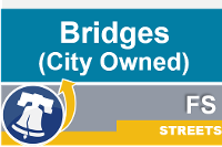 Streets city owned bridges