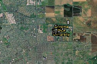 Sonoma State University Campus Map