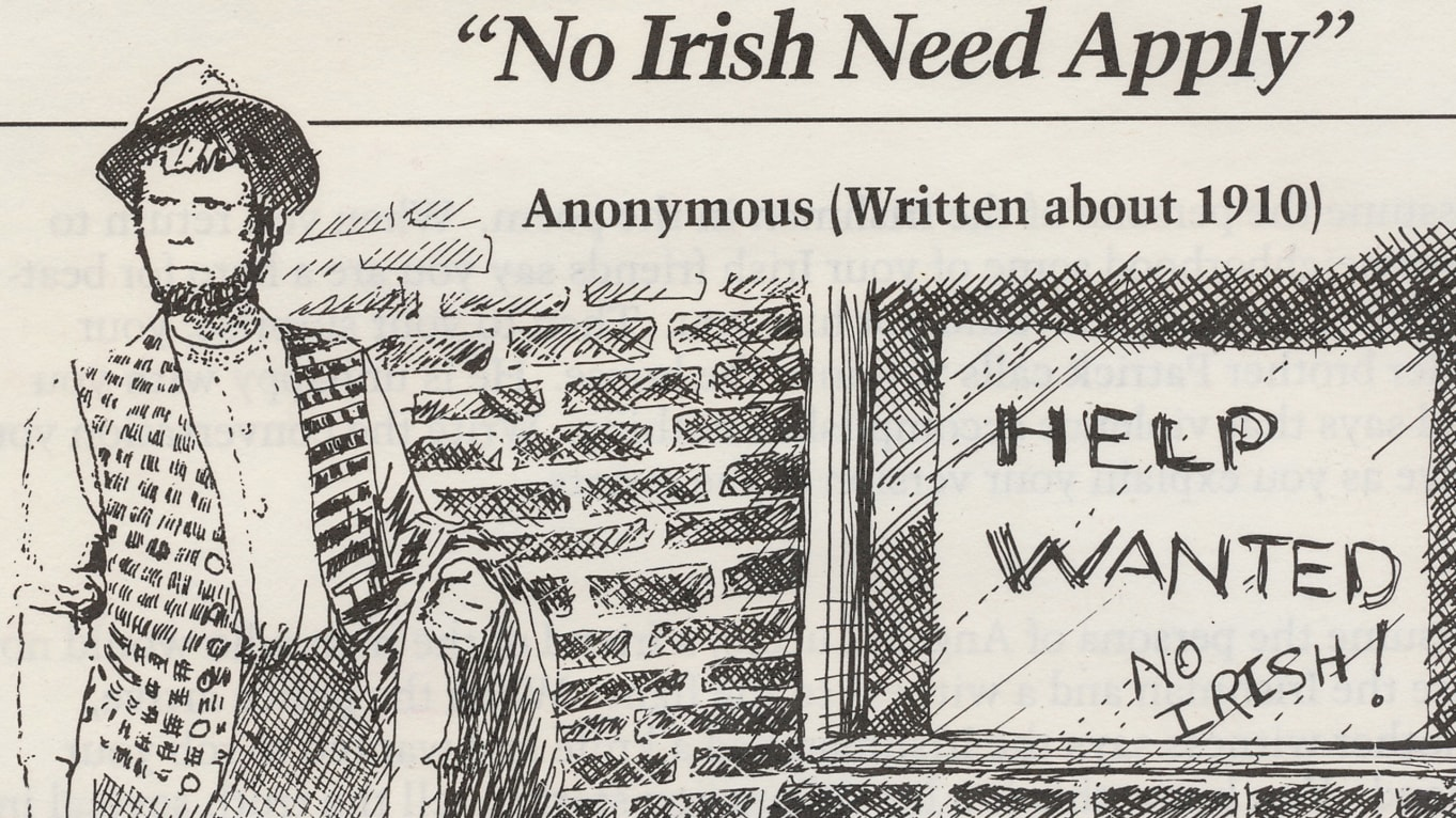 Irish American Oppression Arcgis Storymaps