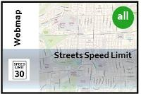 Street Sd Limit Map on