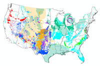 US Karst Map - Contiguous United States