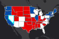 2016 Us Presidential Election Swing States - Us-presidential-election-map-2016